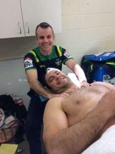 Canberra Raiders Massage